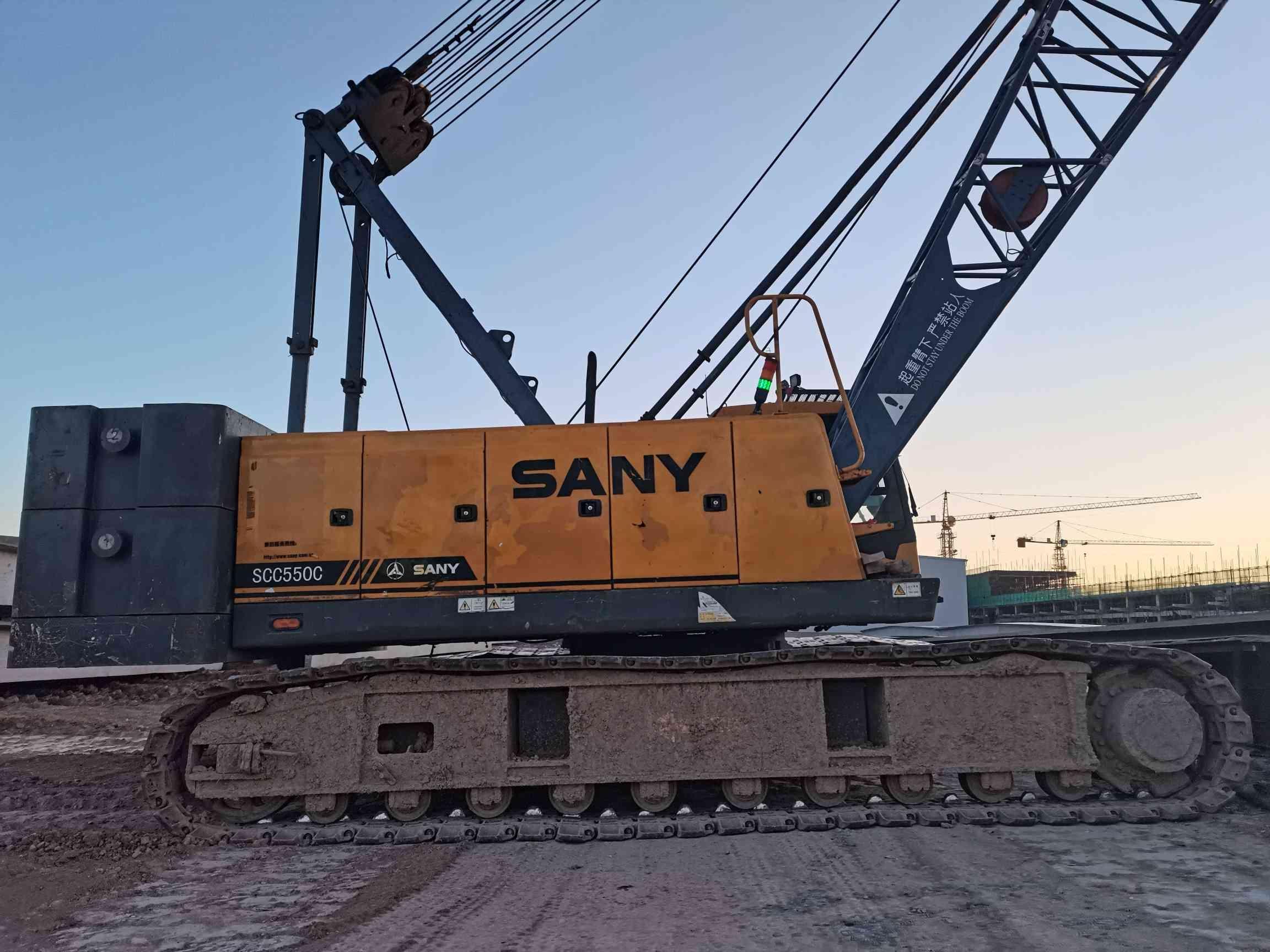 [出租]三一重工-SCC550C-55吨